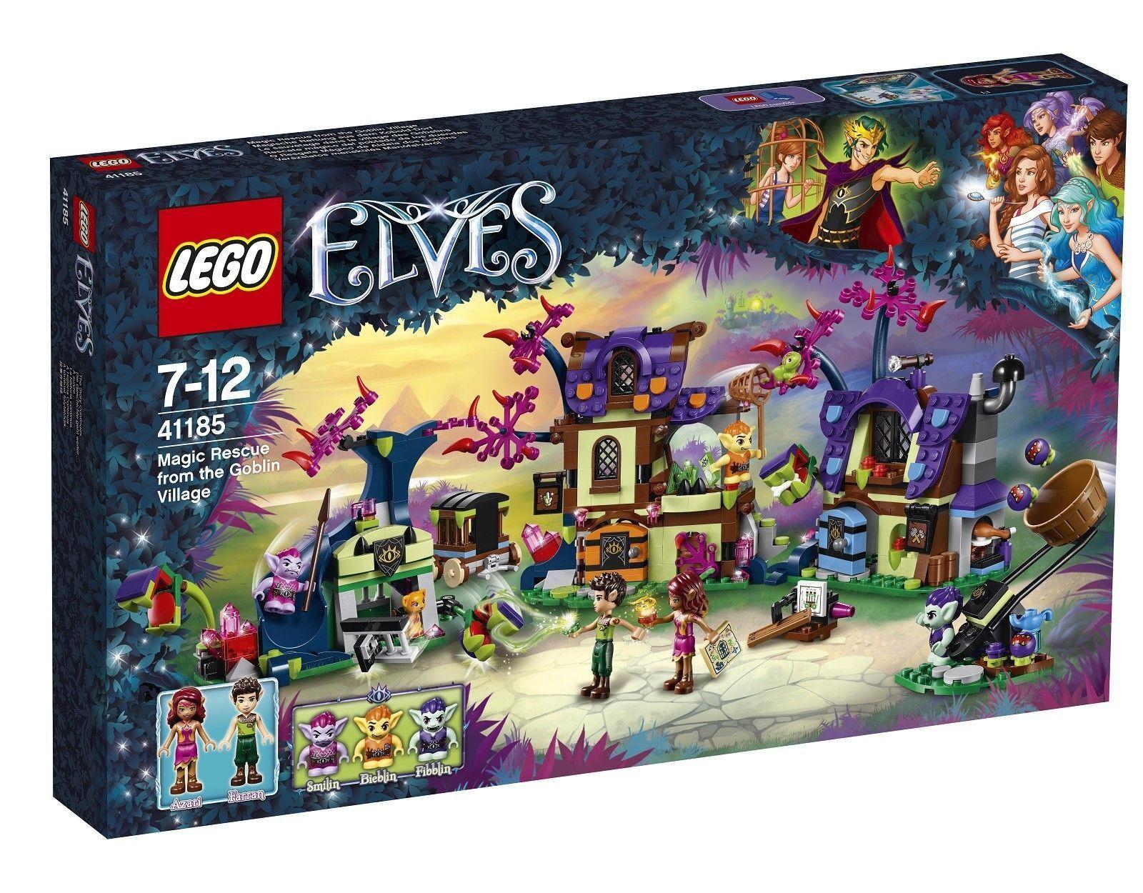 Lego Elfes Magic Rescue from the Goblin village  2017 (41185)  livraison rapide et livraison gratuite sur toutes les commandes