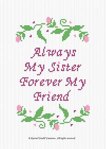 Crochet Patterns MY FRIEND afghan pattern MY SISTER