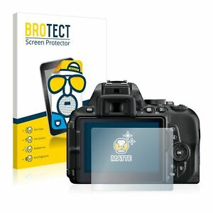 Details about Nikon D5600, 2 x BROTECT® Matte Screen Protector, anti-glare,  hard-coated