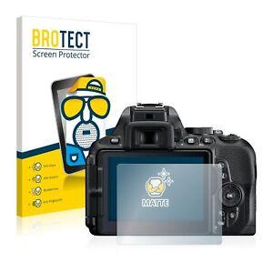 Nikon D5600, 2 x BROTECT® Matte Screen Protector, anti-glare, hard