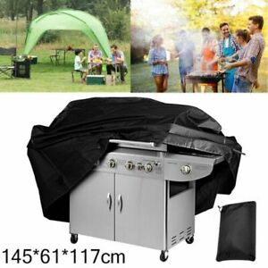 """BBQ Gas Grill Cover 57/"""" Barbecue Waterproof Outdoor Heavy Duty Protection 5 SIZE"""