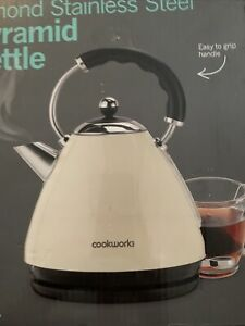 Cookworks Rapid Boil Pyramid Kettle 3kW