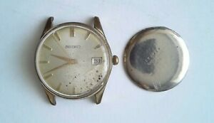 Uhrenhandel-Vintage-Armbanduhr-Mechanisch-Seiko-17-Jewels-Cal-6602B