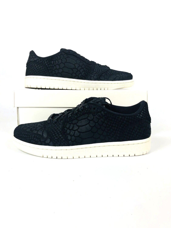 Womens Nike AIR JORDAN 1 RETRO LOW NS NRG Shoes Python AJ6004 010 New