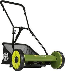 Snow Joe MJ500M 16 inch Maintenance free Manual Reel Mower w/Grass Catcher