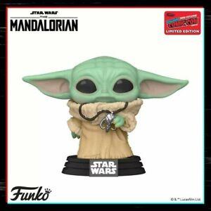 Funko-Pop-Vinyl-The-Child-398-Mandalorian-NYCC-2020-Shared-Sticker-PRE-ORDER