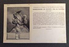 CPA. GODEFROID LE BOSSU.Duc Lorraine. 26. Histoires de la  Belgique et Pays Bas.
