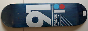 PLAN-B-039-91-039-B-TEAM-DECK-SKATEBOARD-8-25-034-NEW-MINT-SEALED-IN-SHRINK-QUALITY-1st