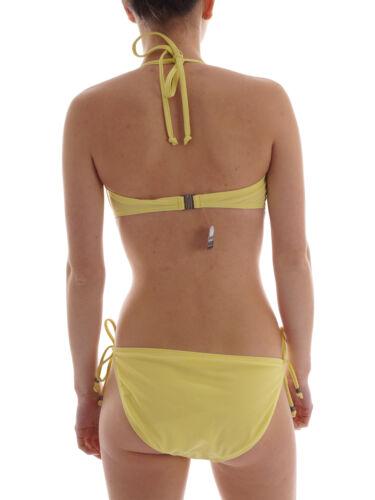 Sarcaden Brunotti Bain Rembourrage De Bikini Slider Jaune Licou Mode Perle OqFwq6xW4X