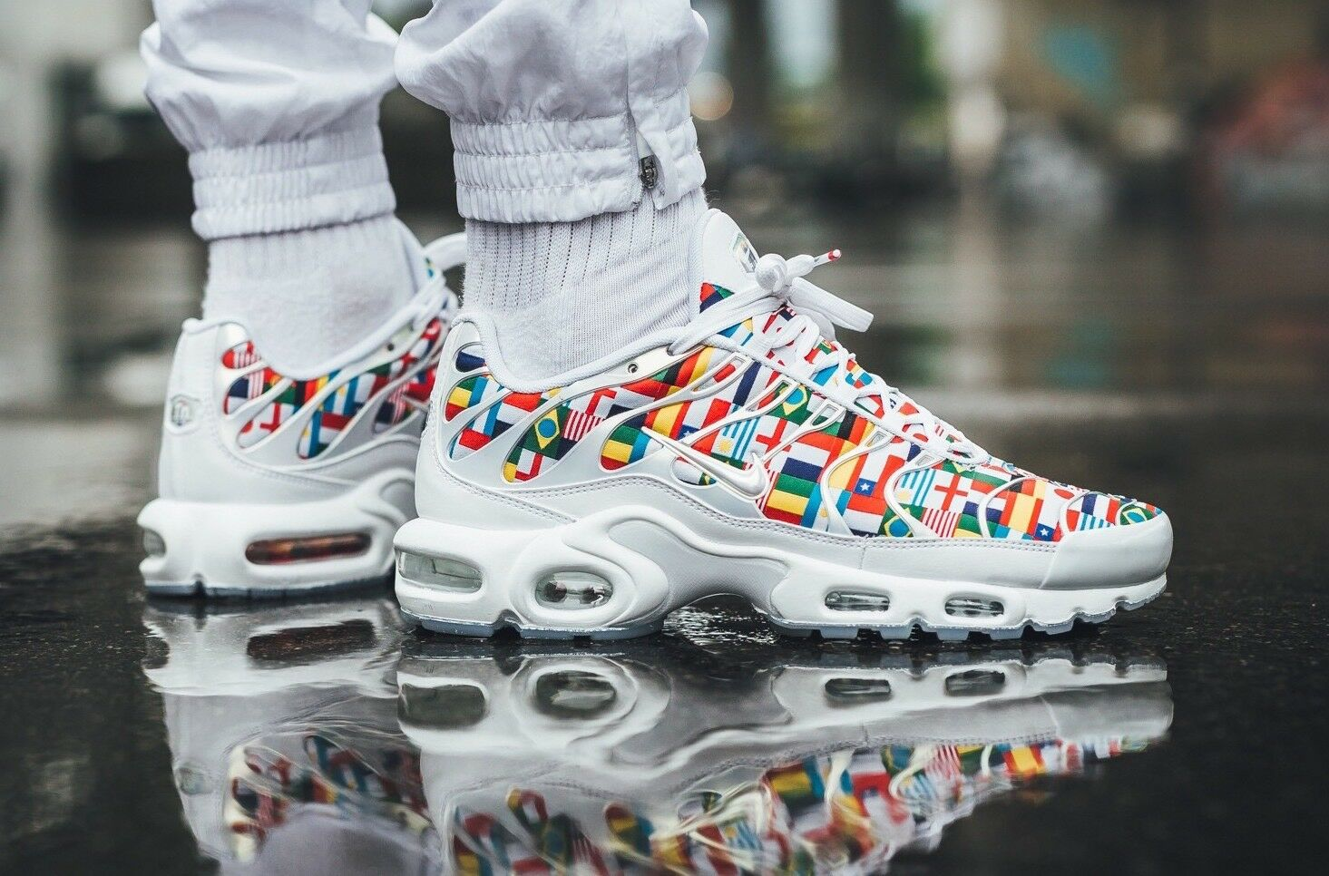 Nike US Air Max Plus One World 5 5 World US Nike Uomo 6.5 US WMNS World Cup   592398