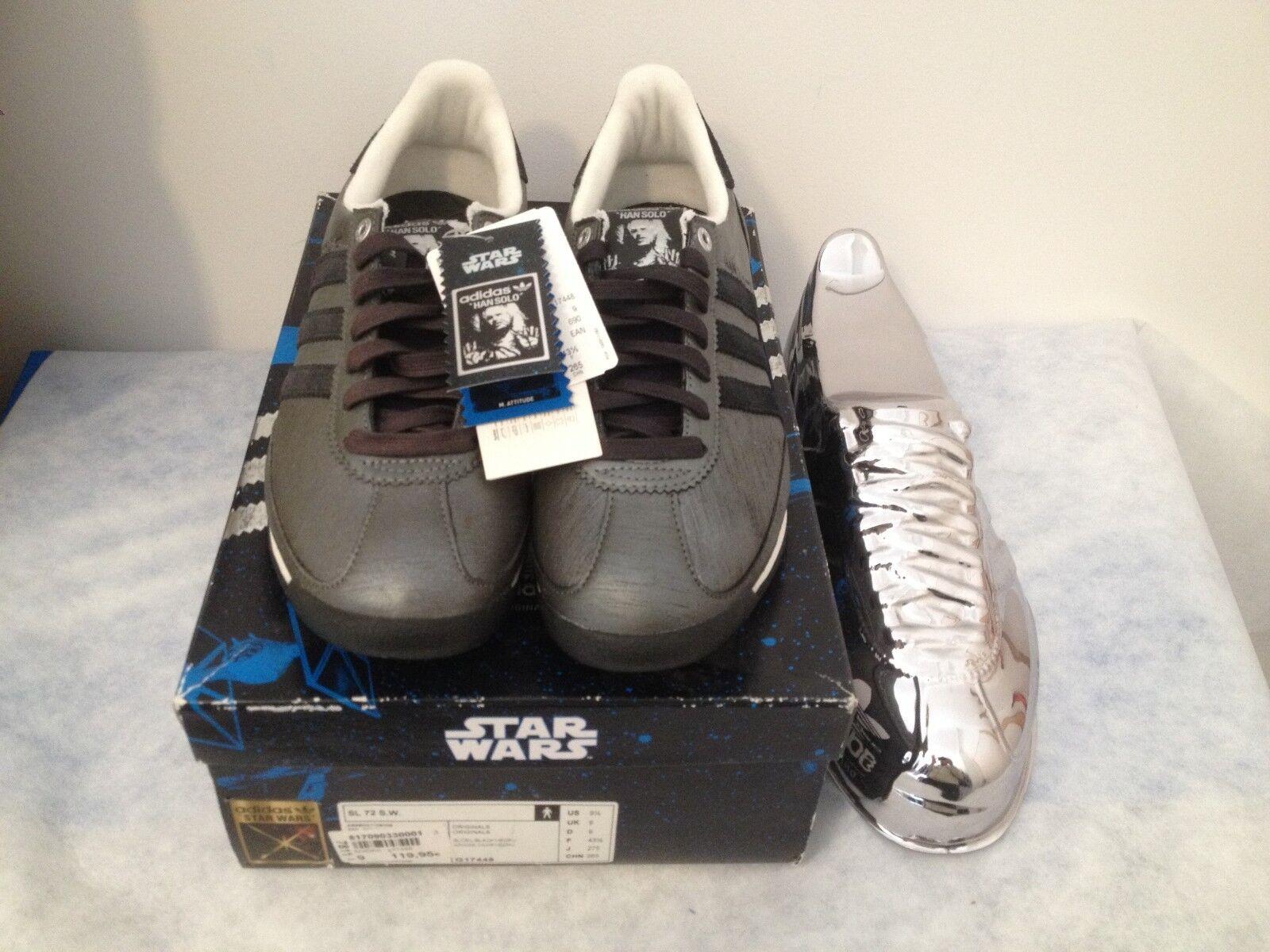 adidas SL 72 S.W. Star Wars Han Solo in 43 1/39 US 9.5 neu BNWT G17448