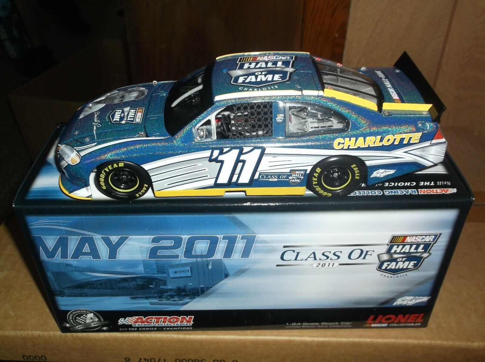 RARE 2011 DAVID PEARSON HALL OF FAME FLASHCOAT Coloreee 1 24TH SCALE DIECAST