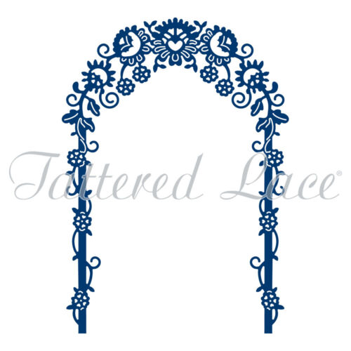 D959 Tattered Lace Archway muere cardcraft /& scrapbooking boda D1273