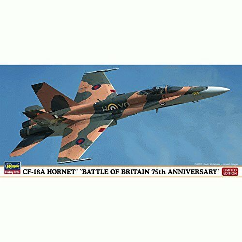 Hasegawa 1 72 CF-18A Hornet Battle of Britain 75th Anniversary Model Kit NEW