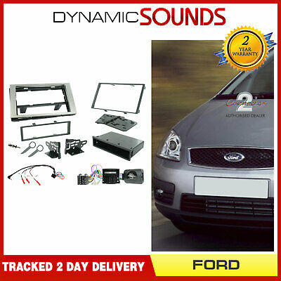Silver Fascia /& Steering Wheel Interface Kit for Ford Transit Connect 2006-2013