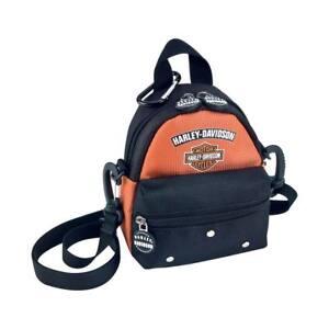 Image Is Loading Harley Davidson Mini Me Backpack Rust 99668 Rb