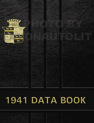 1939 Cadillac Data Book V8 V16 and La Salle Dealer Album LaSalle Facts