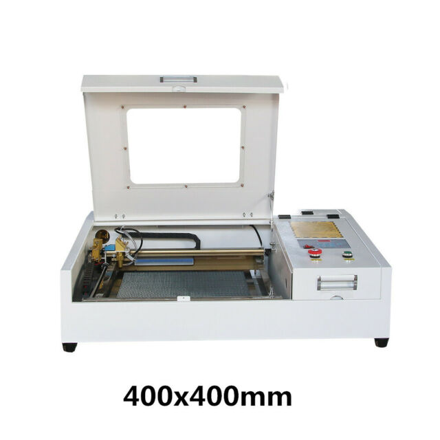 CO2 Laser Engraving Cutting Machine 4040 40W 400*400mm for wood leather  acrylic
