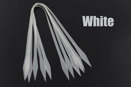 20 pcs 4 colors Luminous Silicone Skirts SpinnerBait Buzzbait Jig Lures Making