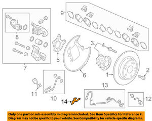 Details about HONDA OEM ABS Anti-Lock ke System-ABS Sensor Wire cket on