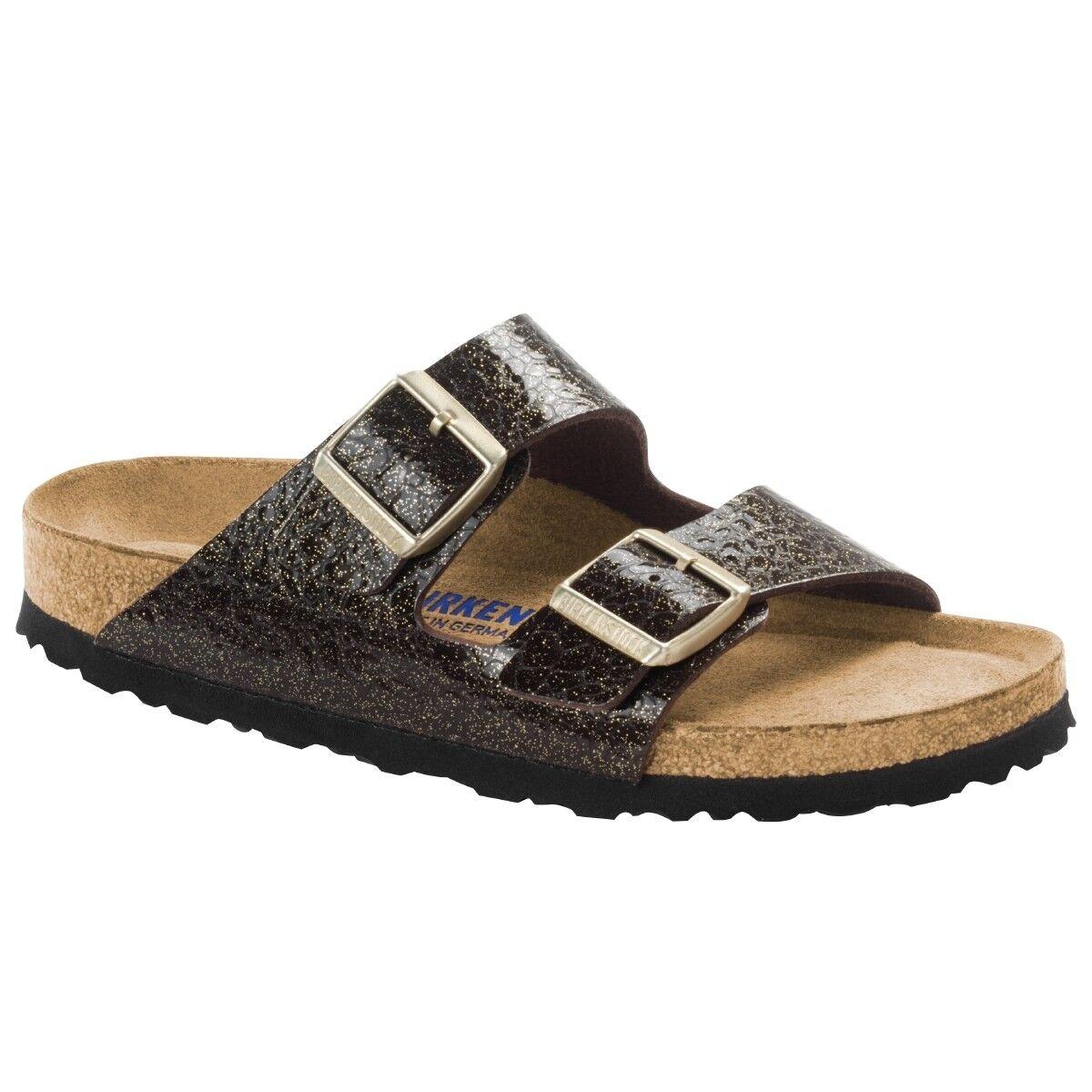 Birkenstock Arizona Birko Flor Schuhe 1006606 Weichbettung Sandalen Weite normal 1006606 Schuhe 0996ca