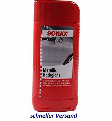 Sonax Autopolitur Lackpflege Lackpolitur METALLIC HOCHGLANZ 500ML 317200