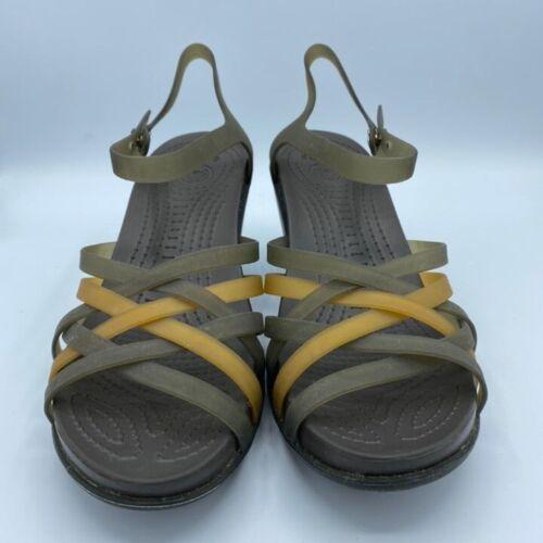 Retired Crocs Huarache Wedge Sandals Size Women's