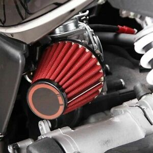 NEW-35mm-Air-Intake-Filter-Pod-For-50-110cc-ATVs-Quad-Dirt-Pit-Bike-Go-Kart-Red