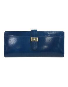 NEW-Cellini-CWF006-Trifold-Tab-Wallet-Blue