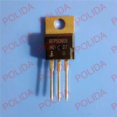 5PCS MOSFET Transistor Intersil//Harris//Fairchild TO-220 RFP50N06