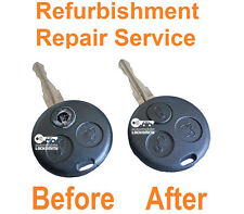 Repair Service for Smart Roadster Fortwo Forfour 3 button faulty remote key Fix