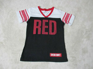 6ee21c00b Country Taylor Swift Red Band Concert Tour T-shirt SMALL Entertainment  Memorabilia