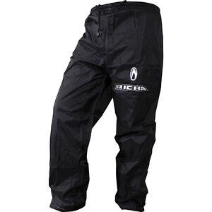 Richa-pluie-Warrior-Surpantalon-impermeable-moto-JEANS-PANTALON-NOIR