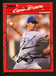 Kevin-Brown-343-signed-autograph-auto-1990-Donruss-Baseball-Trading-Card