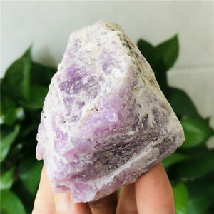 308g-Natural-Rough-Rock-Mineral-Kunzite-Quartz-Crystal-Raw-Stone-for-decoration