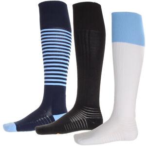 Mens-Umbro-Knee-Length-Football-Sports-Plain-Stripe-Unisex-Pro-Socks