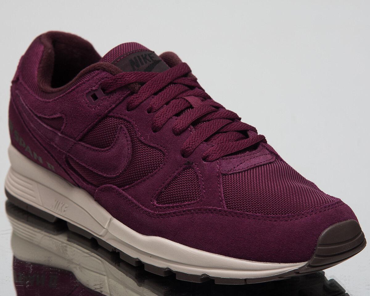 Nike Air Span II Premium Bordeaux Sand Lifestyle shoes 2018 Sneakers AO1546-600