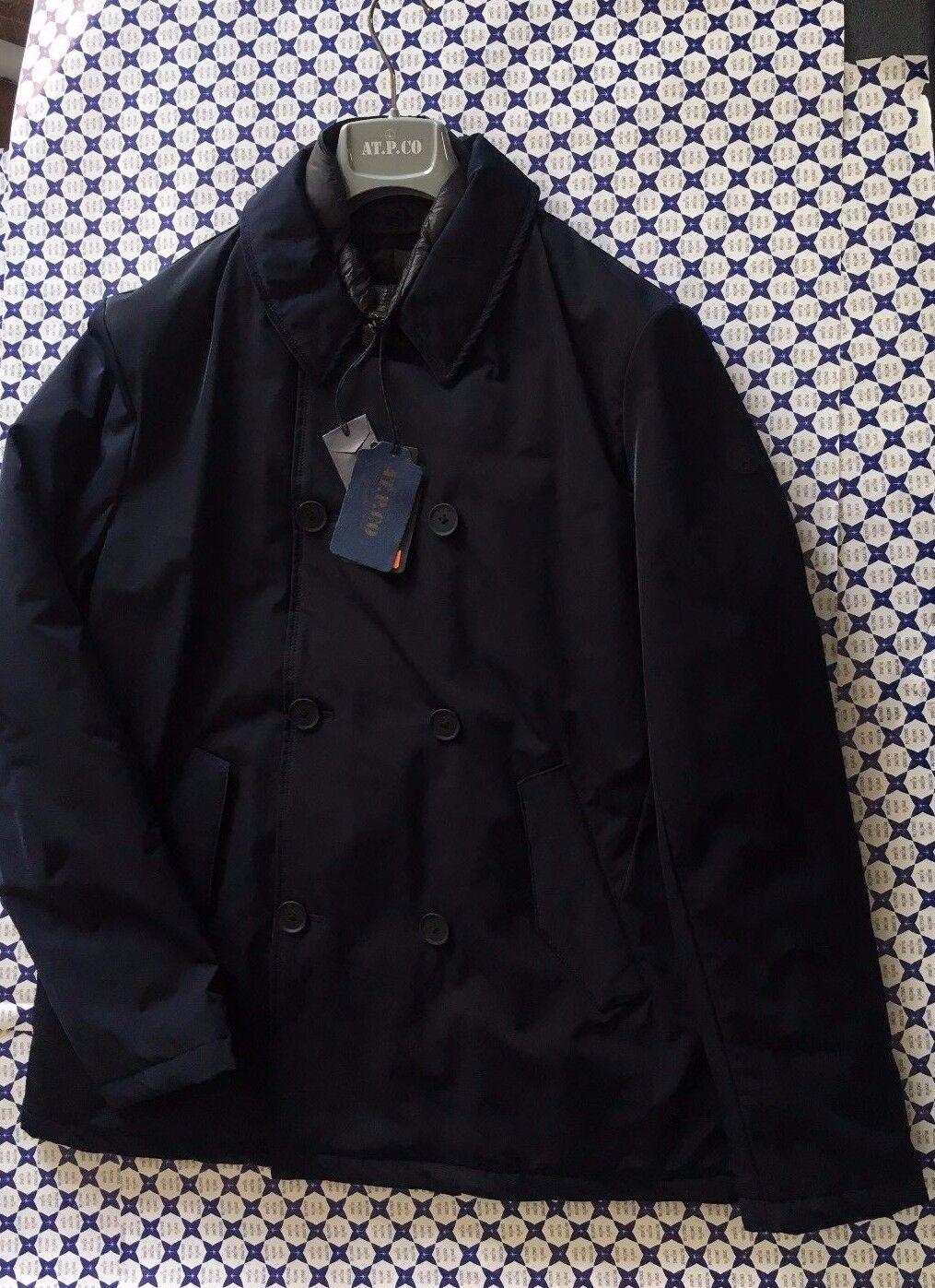 Giacca AT.P.CO. men - Doppio Petto Interno Staccabile - blue Navy - A0132