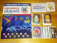 ALBUM VUOTO EMPTY + FULL SET COMPLETO COMPLETE PANINI COPA AMERICA CHILE 2015