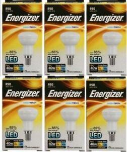 6-x-Energizer-Hightech-DEL-R50-Reflecteur-Ampoule-6-W-40-W-classe-energetique-Bon-etat