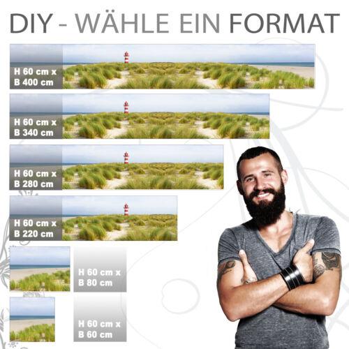 NORDSEE PVC 0.2mm PRO Version selbstklebend Küchenrückwand