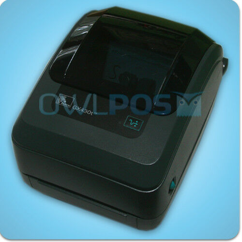 Zebra GX430T Thermal Barcode Label Printer For Sale Online