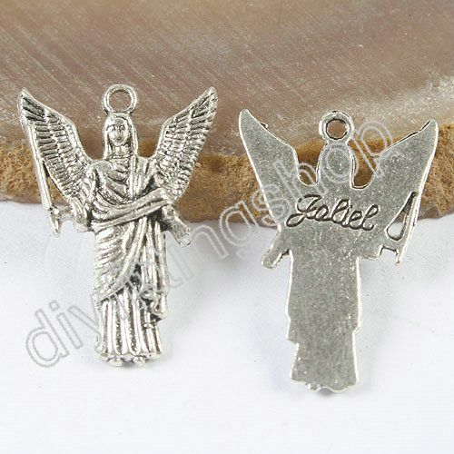 7 archangels 105PCS tibetan silver Mixed archangel charms