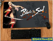 Blade and Soul (BnS) Mouse Mat big Pad Mousepad customize Anime Playstation PS1