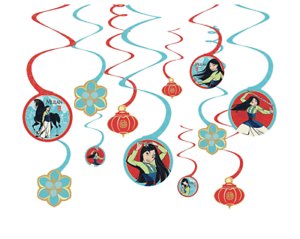Mulan Happy Birthday Banner For Kids And Adults Birthday Party Decorations Supplies