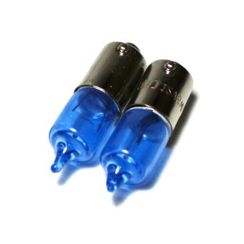 2x BAX9S H6W//433c 6w Super White Xenon Sidelight Bulbs 12v