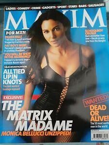 Vintage-Maxim-Magazine-June-2003-Number-98-Monica-Bellucci-postage-free