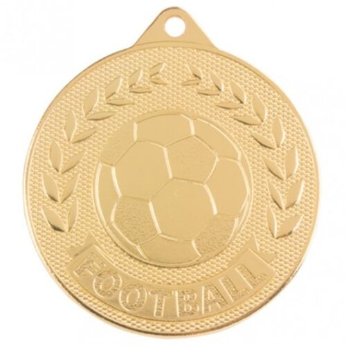 MM17131 3 Colours Top Quality Stamped Iron * ONLY £1.00 * Football MEDAL