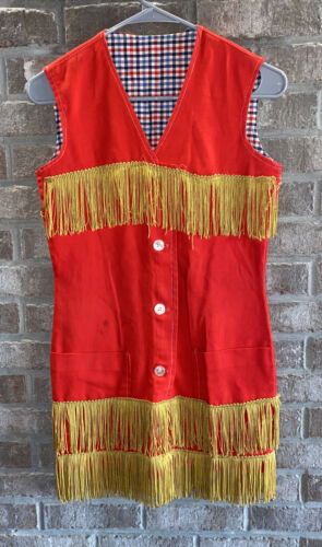 Vintage Western Wear Dress 1970's XS Cowgirl Costu