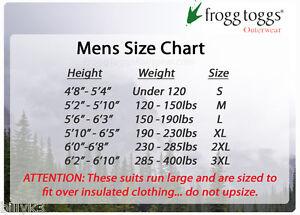 Frogg toggs bull frogg jacket stone size 2xl ebay